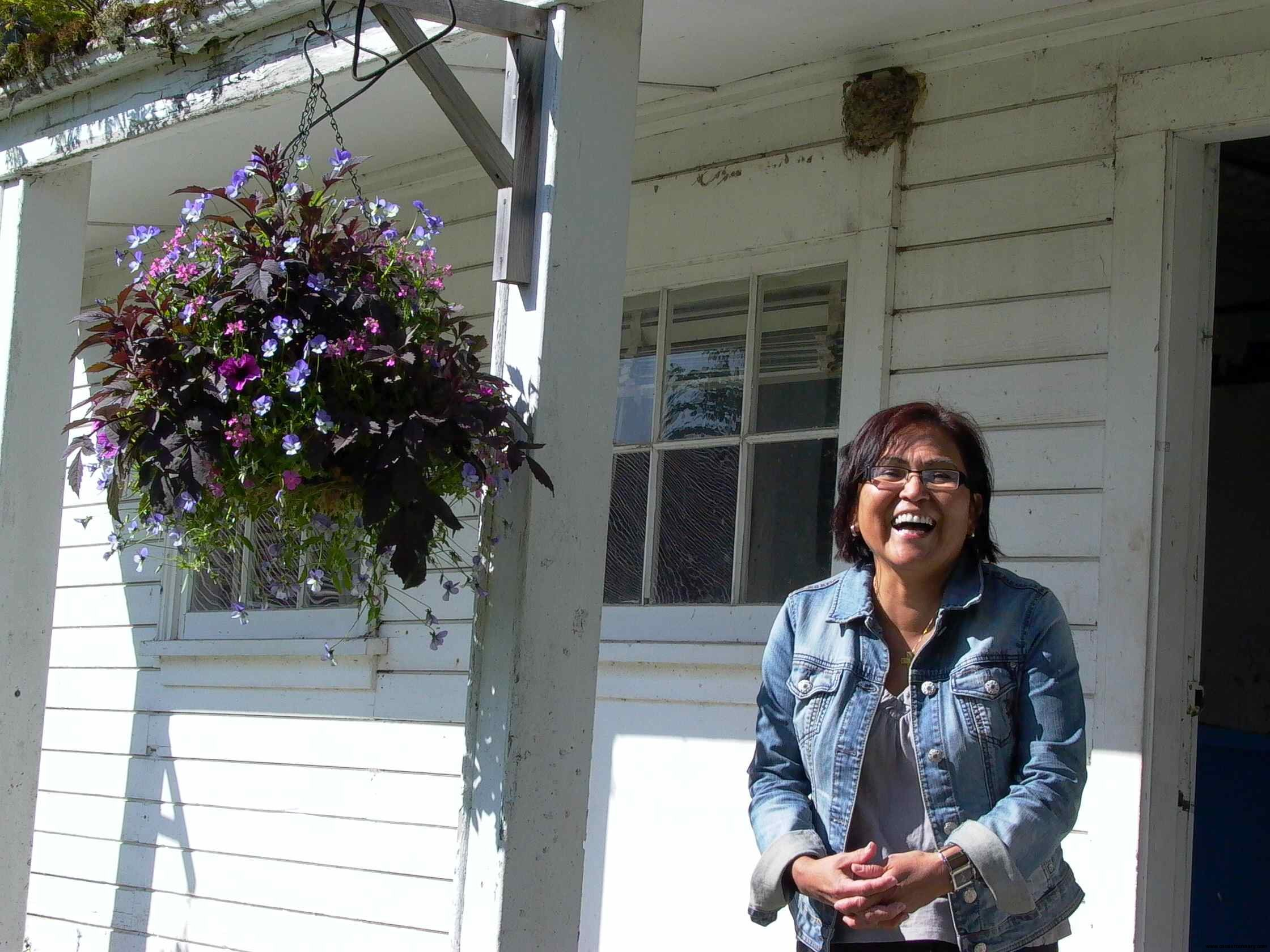 Cassiar Community - Aileen Smith, Prince Rupert - she was 14 when she got her first job at Cassiar and hasn't stopped working since.