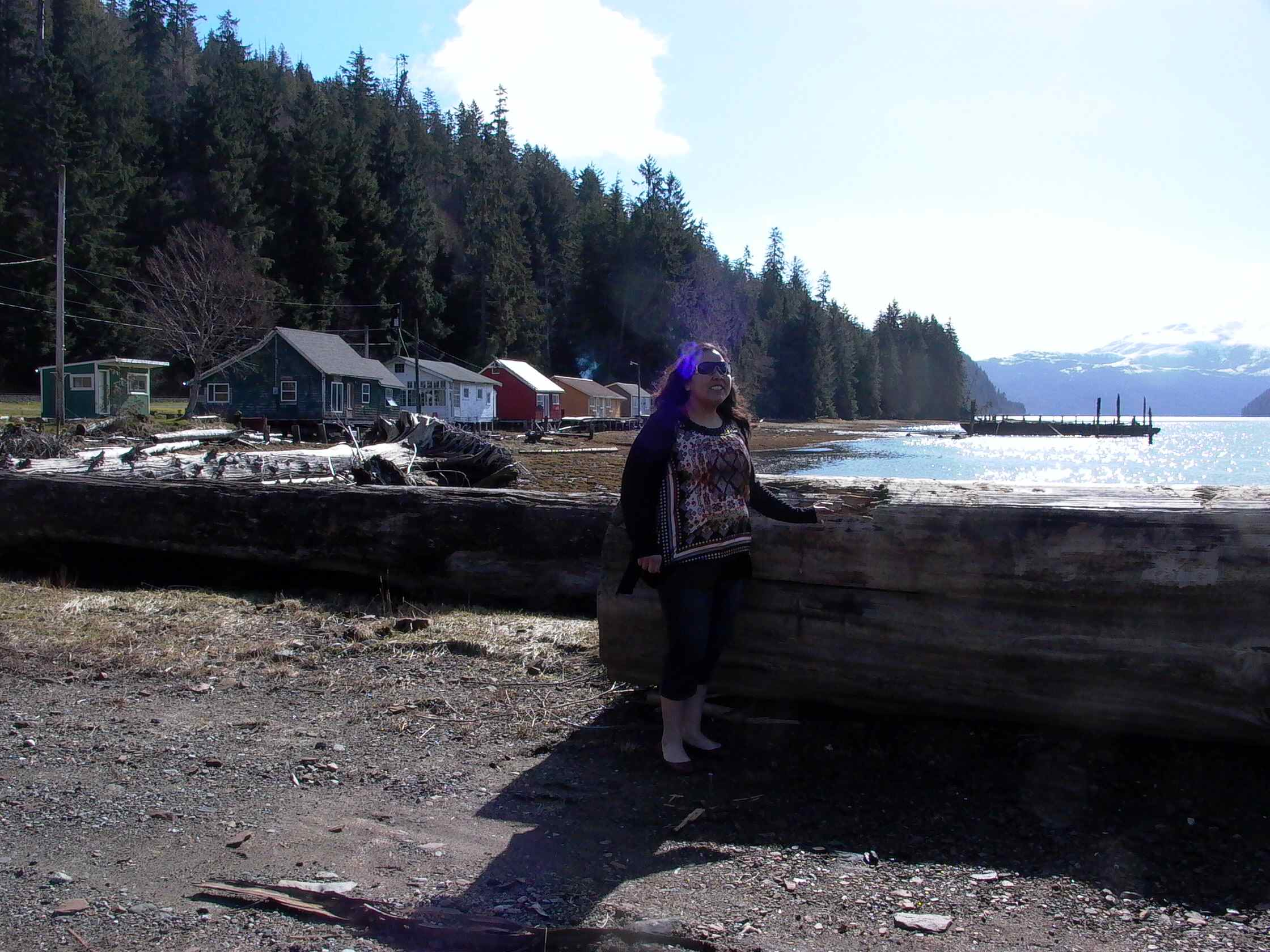 Cassiar Community - Cecilia Morgan (Kitwanga) - a member of the Morgan family.  Her father was a fisherman on the Cecilia Christy.