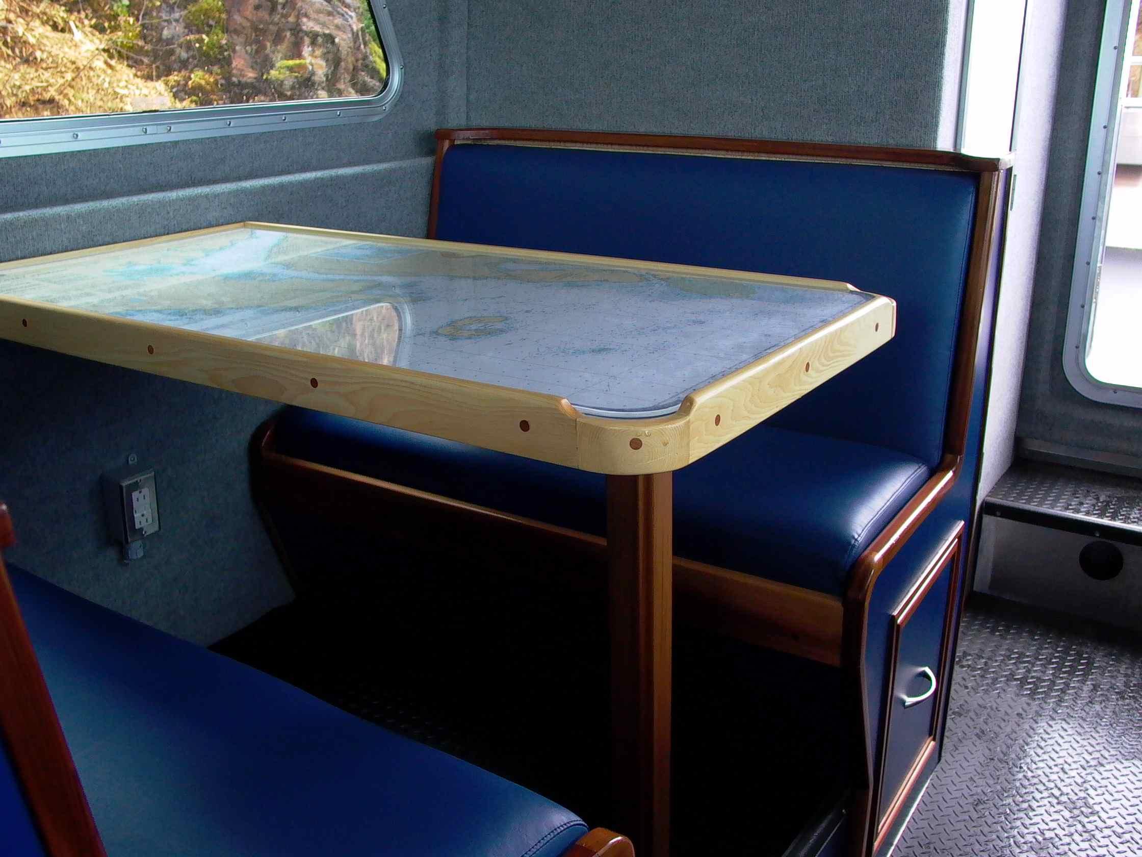 Cassiar Cannery - Poseidon Marine - Charles Hays table and settee