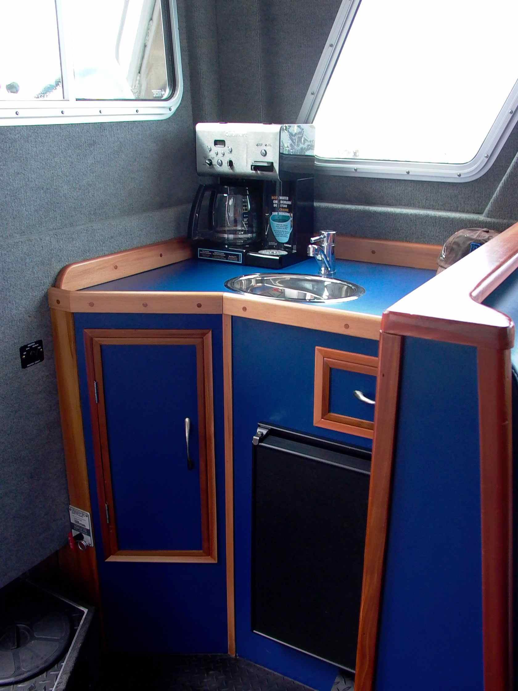 Cassiar Cannery - Poseidon Marine - Charles Hays galley cabinet