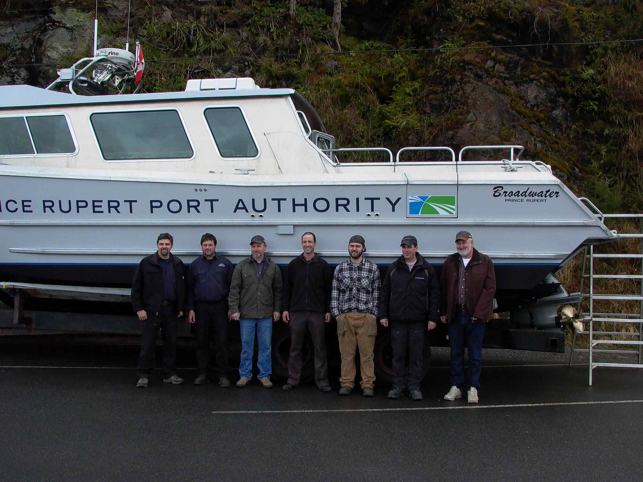Cassiar Cannery - Poseidon Marine - Charles Hays - all the guys that worked on the boat
