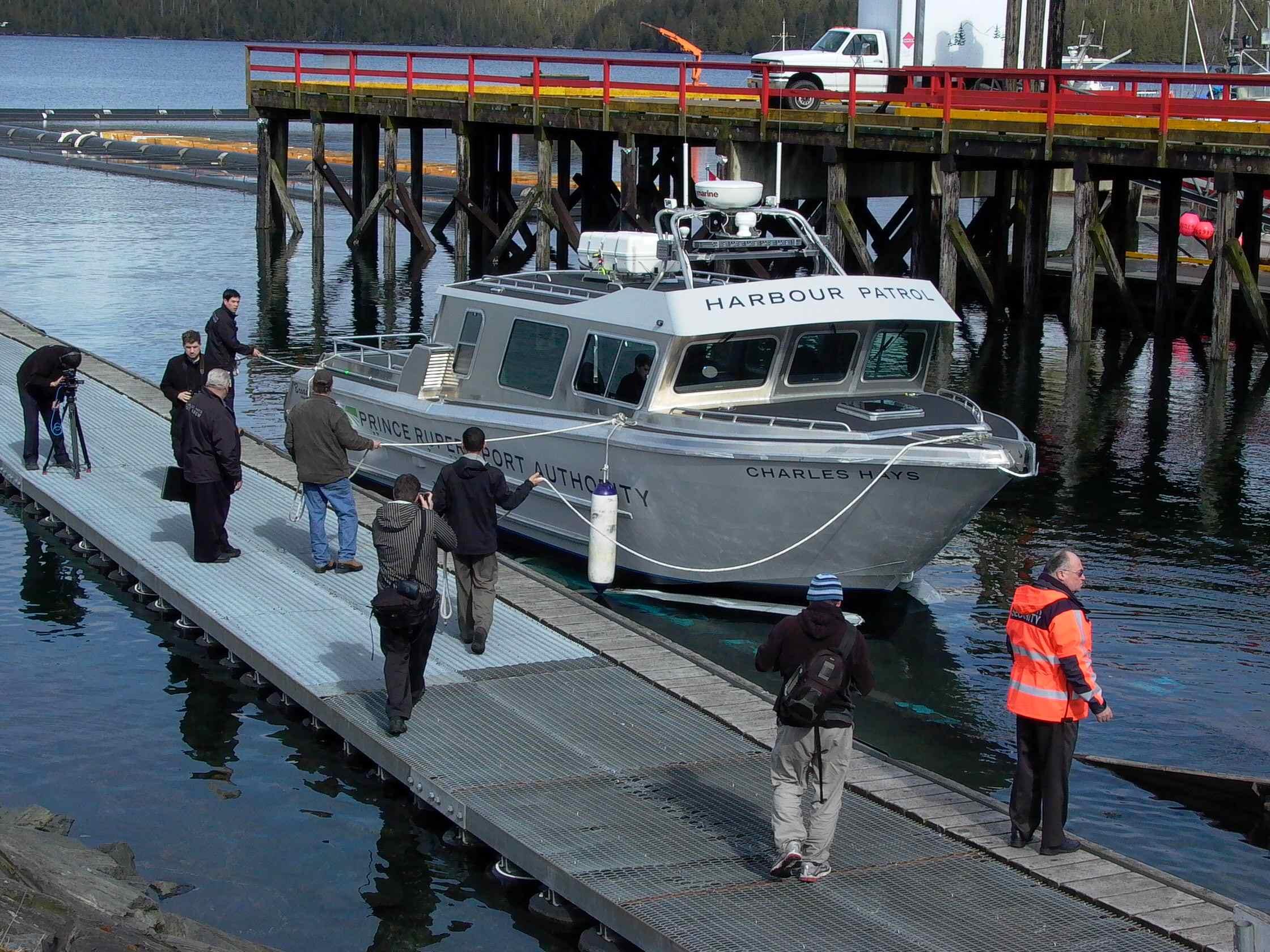 Cassiar Cannery - Poseidon Marine - Charles Hays - boat launch