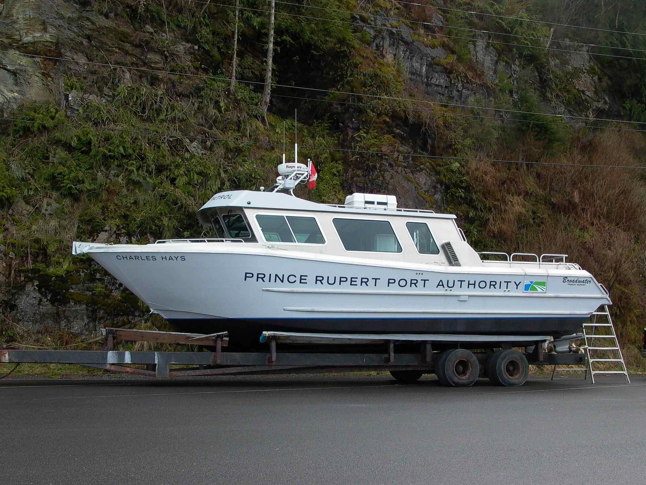 Cassiar Cannery - Poseidon Marine - Charles Hays - on the hard