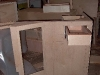 Cassiar Cannery - Poseidon Marine - Charles Hays - building the galley cabinet