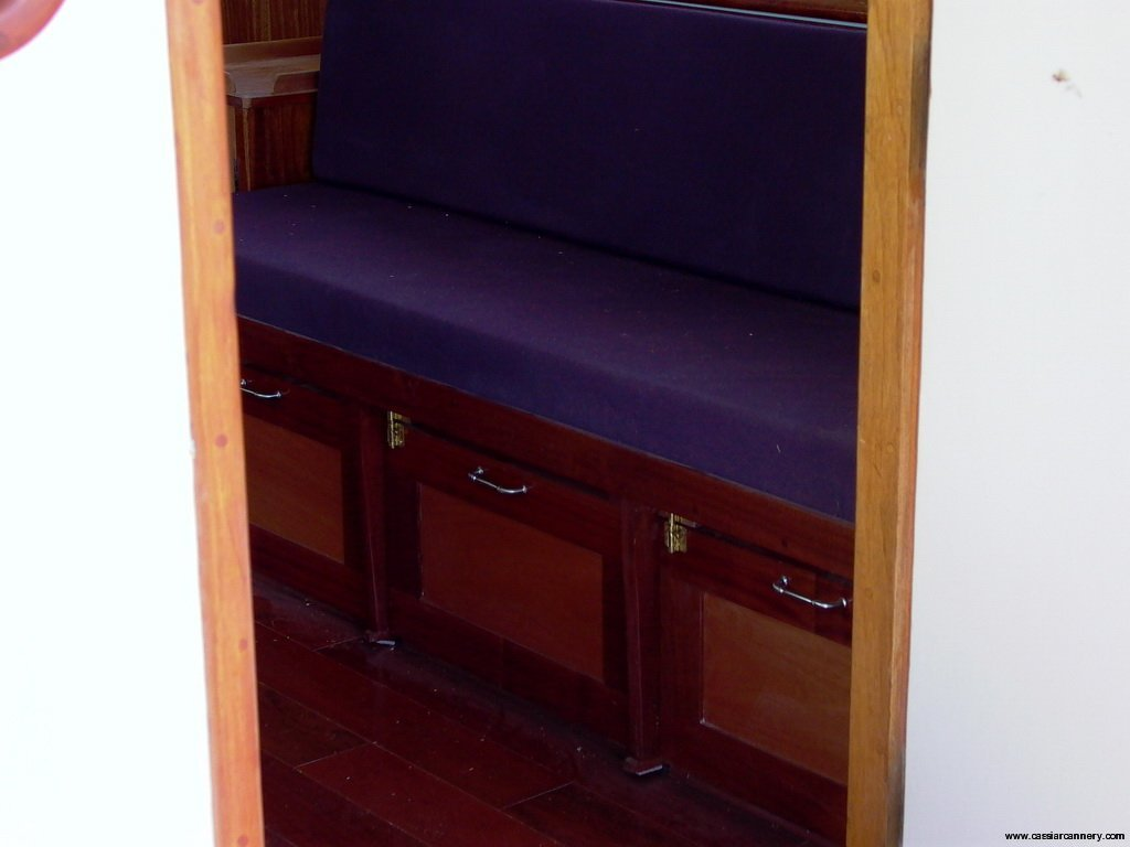Poseidon Marine - Charlie M - new folding bed with storage