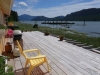 Cassiar Cannery - Coho House - view from the porch