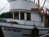 Cassiar Cannery - Doug Lait - 1975 - Kaymac - Mr & Mrs Macmillan's private yacht.  Named for