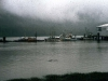 Cassiar Cannery - Doug Lait - 1975 - boats tied up out front