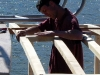 Poseidon Marine - Eros - framing cabin extension