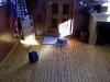 Poseidon Marine - Eros - beautiful floor inside the cabin extension