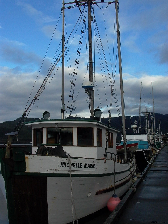 Cassiar Cannery - Poseidon Marine - Michelle Marie - wooden ex-troller yacht conversion