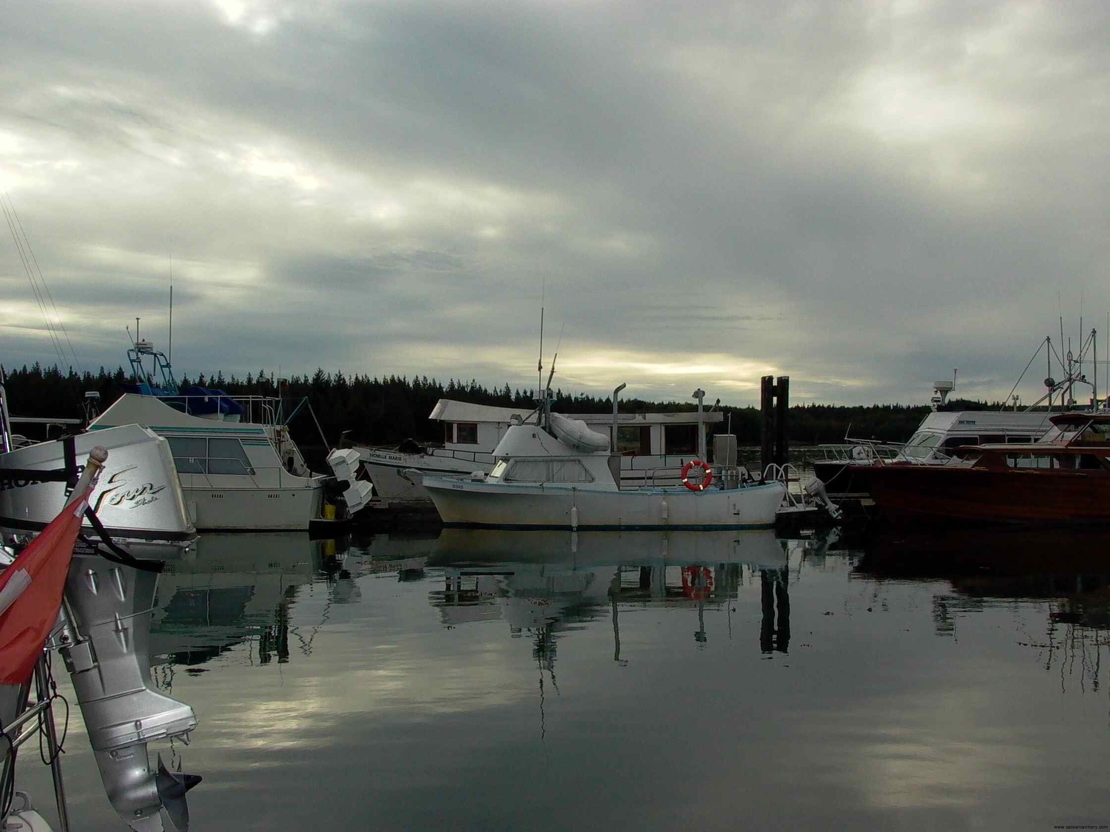 Cassiar Cannery - Poseidon Marine - Michelle Marie - view of the cabin extension