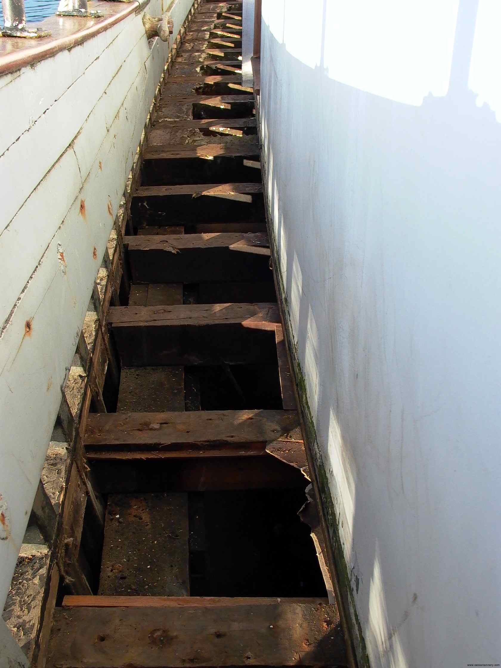 Cassiar Cannery - Poseidon Marine - Michelle Marie - jack beams in great condition