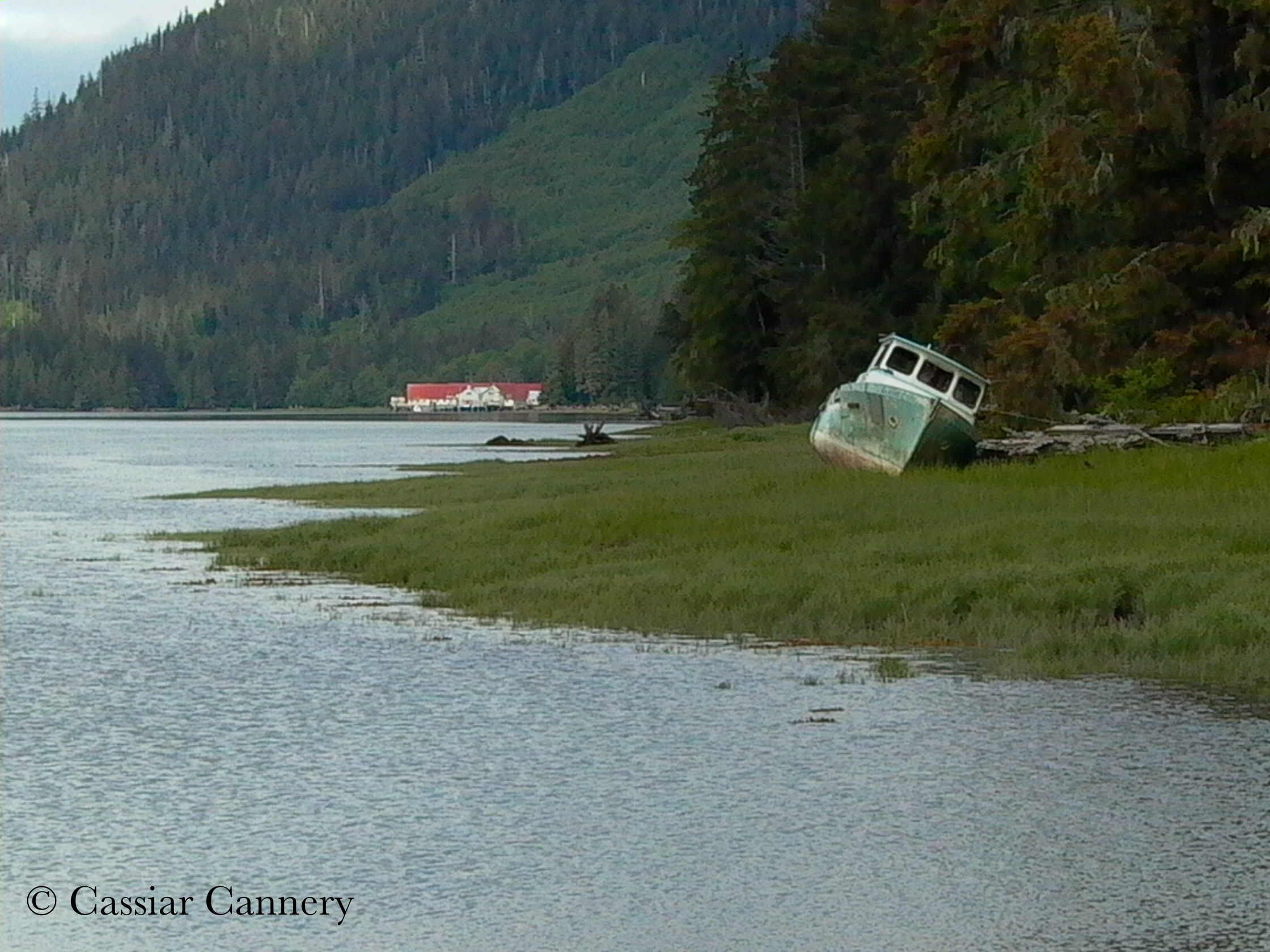 Cassiar Cannery - looking down Inverness Passage at our neighbour - North Pacific Cannery Museum - a National Historic Site.jpg