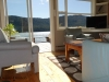 Cassiar Cannery - Sockeye House - view from the living room to the porch