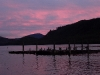 Cassiar Cannery - dawn over the scows