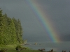 Cassiar Cannery - beautiful rainbow - Mother Nature's palette