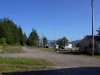 Cassiar Cannery - view behind the houses along the tracks