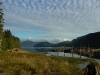Cassiar Cannery - fall on the Skeena Slough