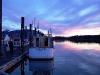 Poseidon Marine - Michelle Marie - cabin extension at sunset in Port Edward
