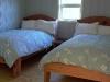 Cassiar Cannery: reclaimed red cedar bed frames