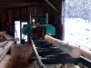 Cassiar Cannery: our friend helps Cassiar immensely by swapping logs for lumber.