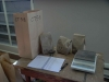 Cassiar Cannery - SERC - Botany - UNBC - Coxson - each saltmarsh sample is weighed then separated by species and weighed again