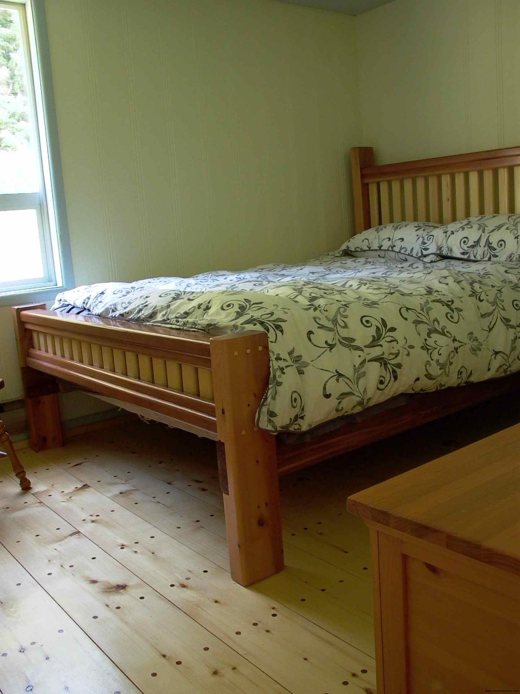 Cassiar Cannery - Sockeye House - back bedroom