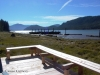 Cassiar Cannery - Sockeye House - view from the porch