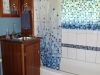 Cassiar Cannery - Steelhead House - renovated washroom with bathtub/shower