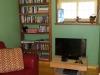 Cassiar Cannery - Steelhead House - sitting area with TV