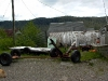 Cassiar Cannery - outside the previous owner's house 2