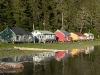 Cassiar Cannery - iconic Cassiar houses - summer 2009