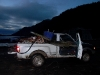 Cassiar Cannery - Bob, the truck, singlehandedly toted enormous loads of debris off the docks