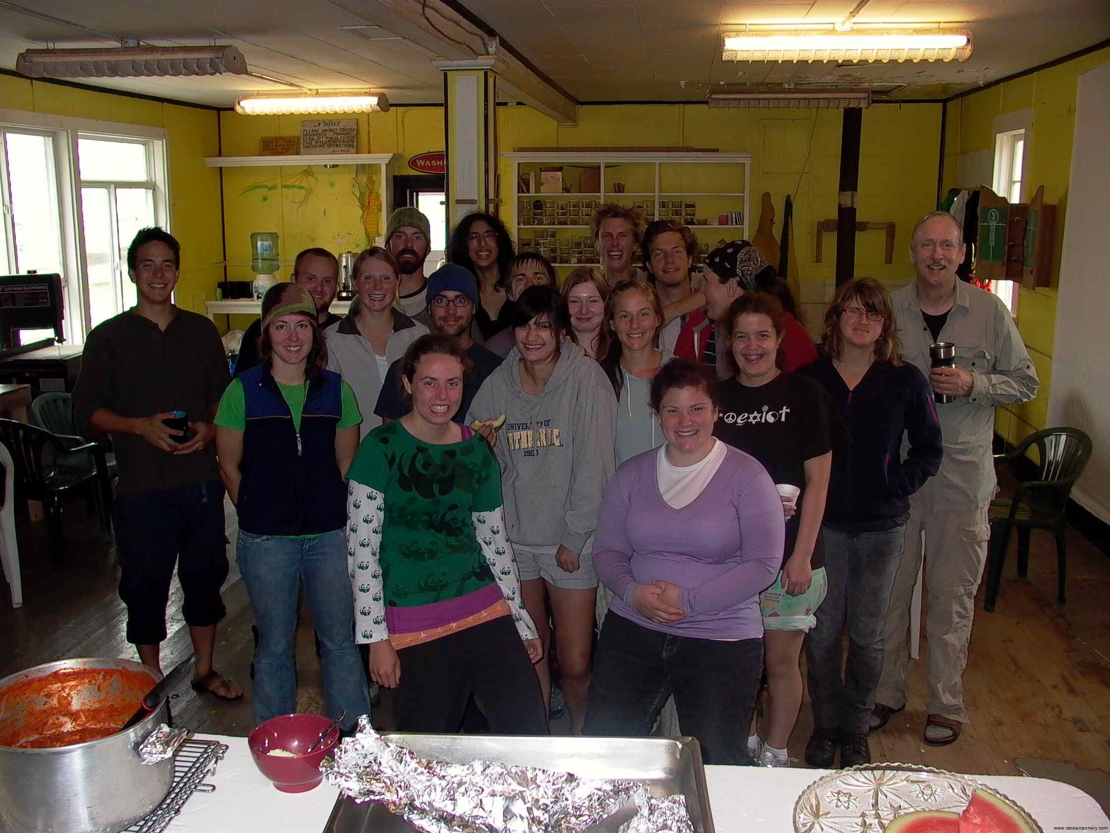 Cassiar Cannery - UNBC Biology Field Group August 2011