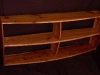 Cassiar Cannery - reclaimed red cedar bookshelves