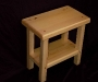 Cassiar Cannery - small reclaimed yellow cedar side table