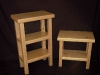 Salvaged Yellow Cedar Side Tables