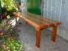 Cassiar Cannery - reclaimed red cedar dining table for 8-10 with yellow cedar accents