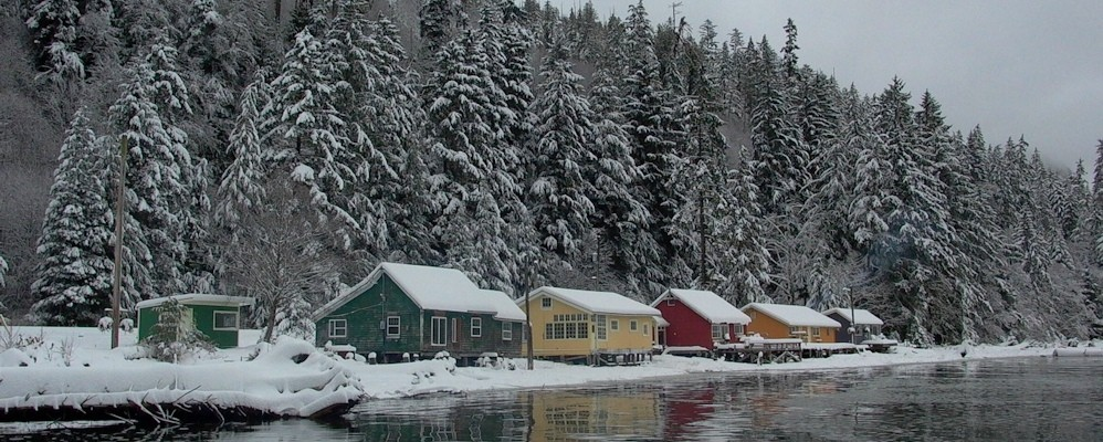 Cassiar Cannery Christmas Card